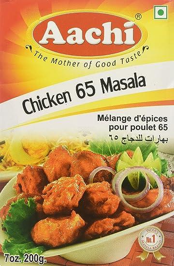 Amazon Aachi Chicken 65 Masala Mix 75oz Indian Food