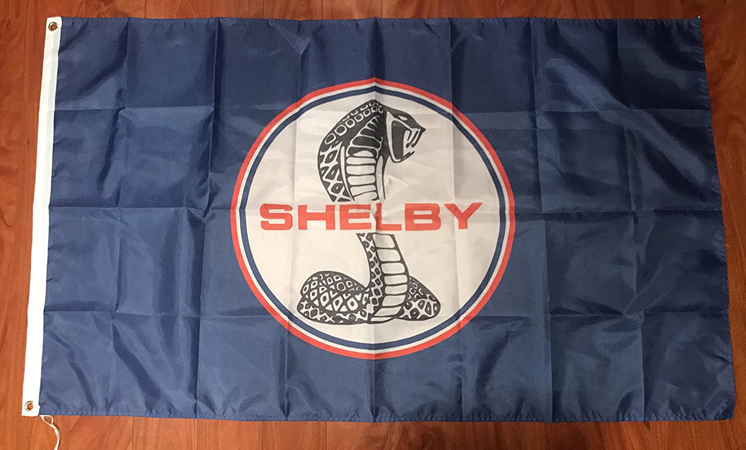 Amazon com shelby cobra ford mustang flag banner gt 350 500 racing sign fabric everything else