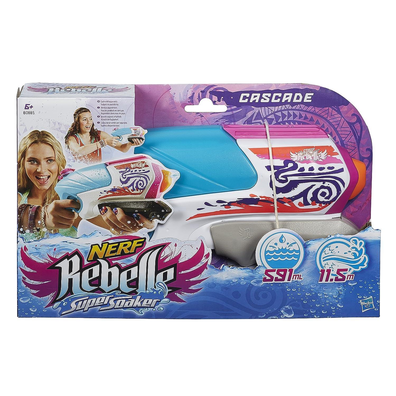 Super Soaker - Rebelle Cascade, Pistola de Agua (Hasbro B0885EU4): Amazon.es: Juguetes y juegos