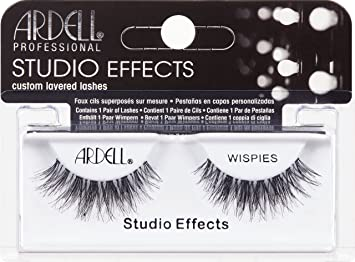52ade60f399 Amazon.com : Ardell Lashes Studio Effect Wispies Black : Beauty