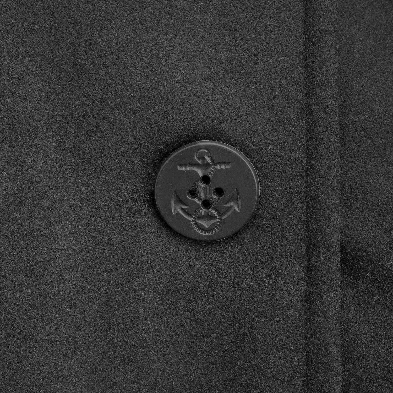 BW-ONLINE-SHOP Navy PEA Coat Marine Colani Wintermantel Jacke
