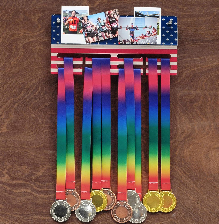 3 Tiers Rack Dispaly Acrylic Medal Hanger Holder Organizer Sport Race  /'.