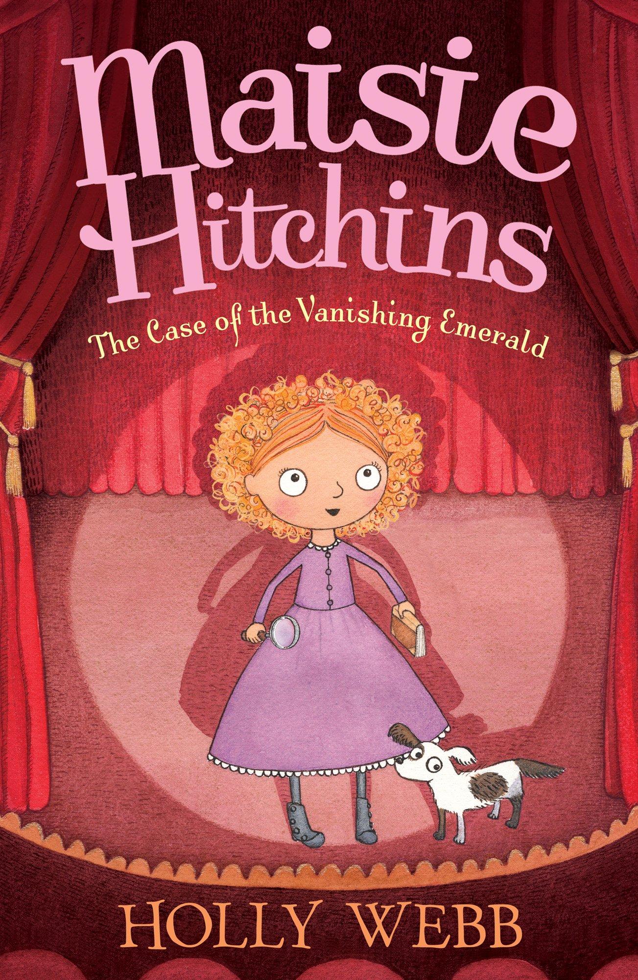 The Case of the Vanishing Emerald (Maisie Hitchins): Amazon.co.uk: Holly  Webb, Marion Lindsay: 9781847153722: Books