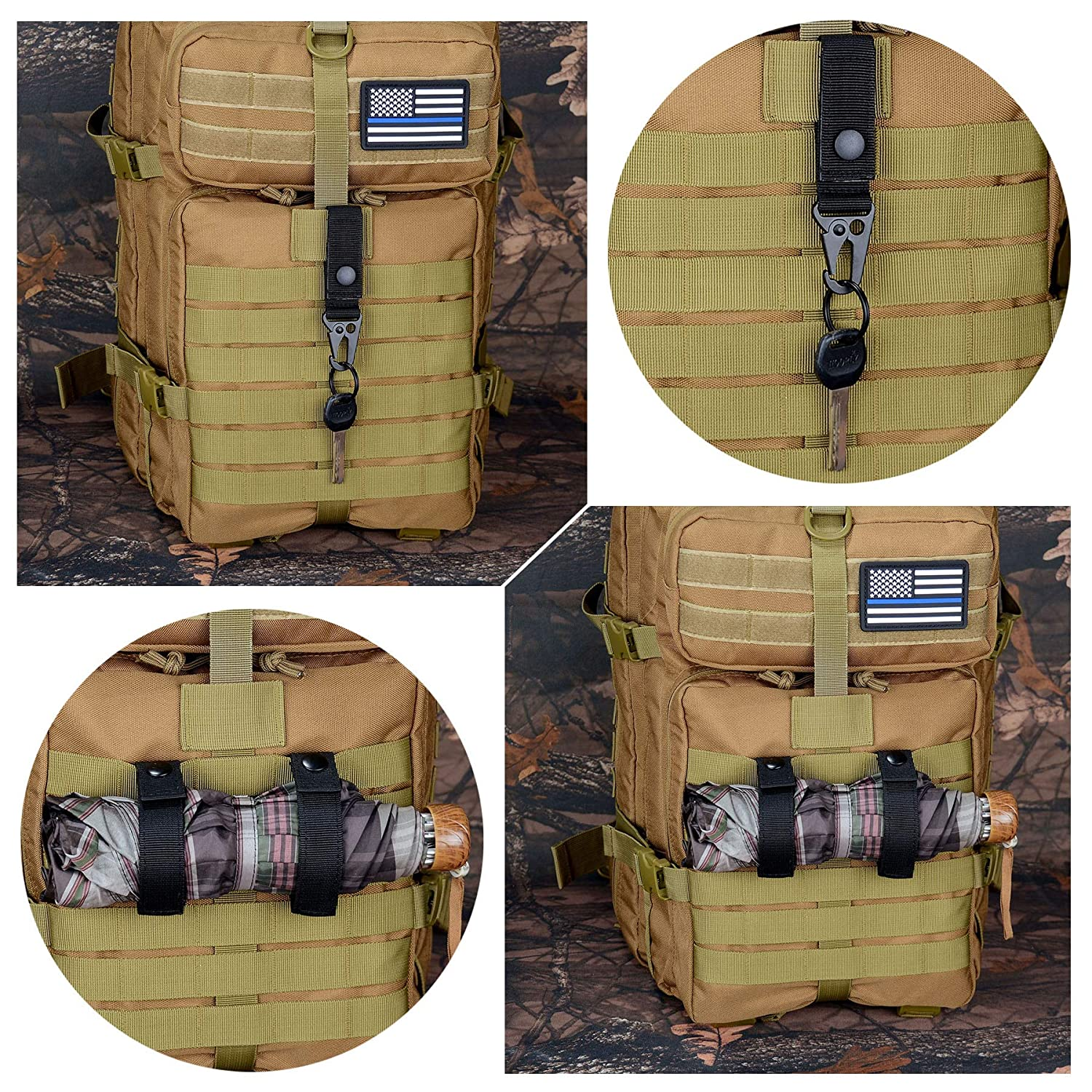 tactical vest backpack attachments