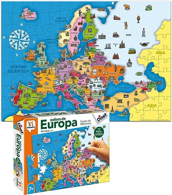 Diset- Juguete educativos Paises De Europa (68947) , color/modelo ...
