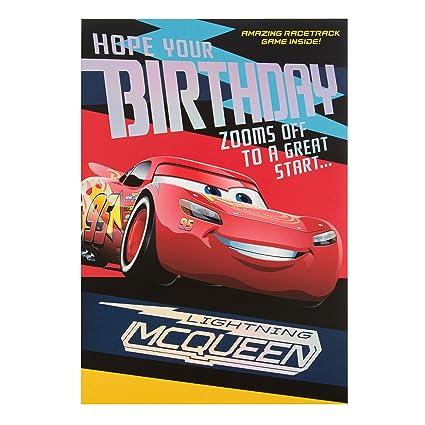 Amazon.com : Hallmark Cars 3 Birthday Card