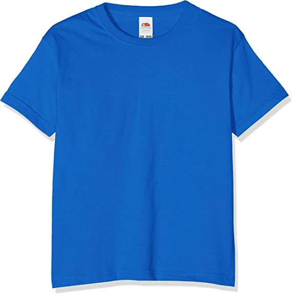 Fruit Of The Loom Kids Childrens Valueweight T-Shirt White 2-3 Years
