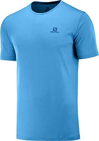 SALOMON Hombre Camiseta Deportiva de Manga Corta, Agile Training ...