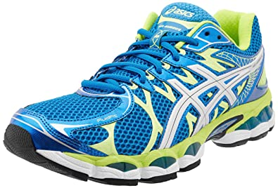 ASICS Men's Gel-Nimbus 16 Running Shoe,Island Blue/Lightning/Lime,