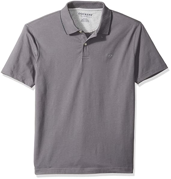 f7f8729a Dockers Men's Solid Signature Polo at Amazon Men's Clothing store: