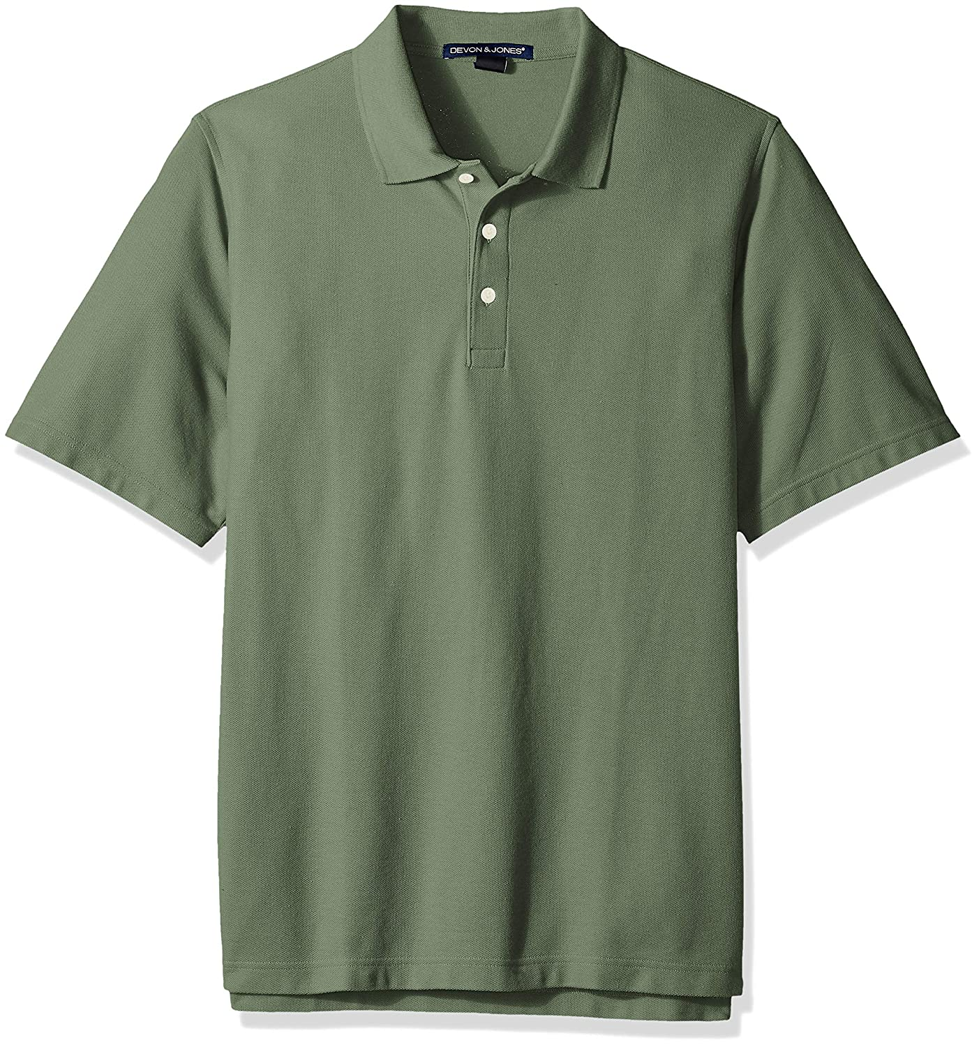 D /& Jones Mens Crown Collection Solid Stretch Twill