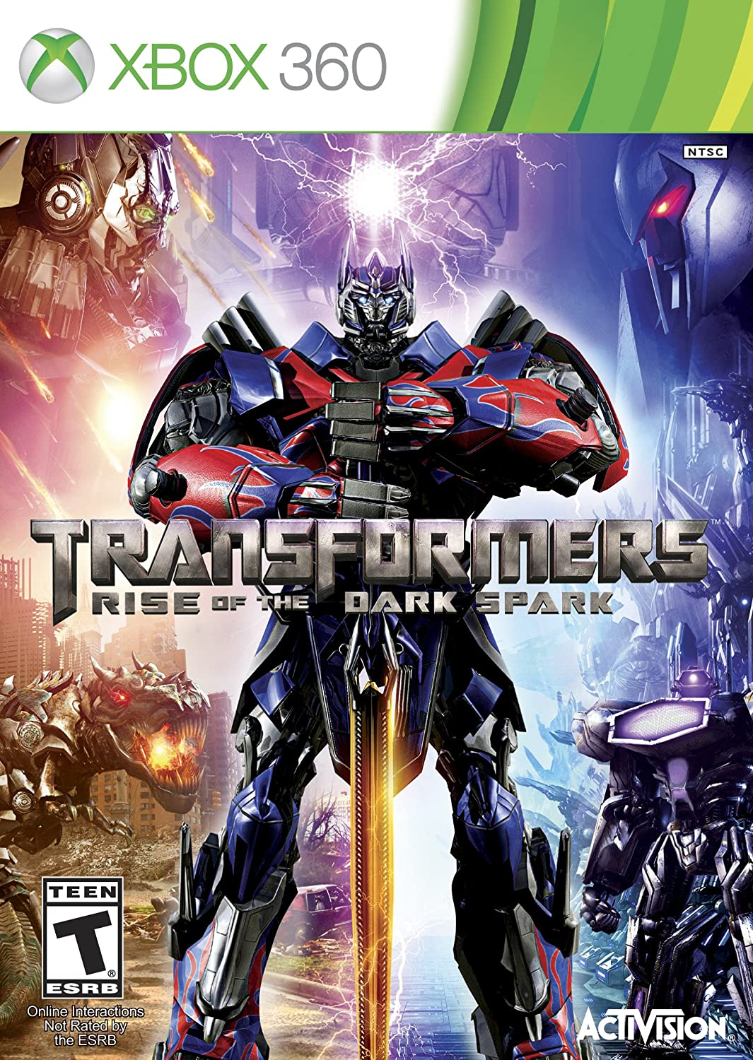 Activision Transformers Juego Xbox 360 Aventura Edge Of Reality
