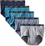Fruit of the Loom Men's Big Stripe Solid Brief - Colors May Vary