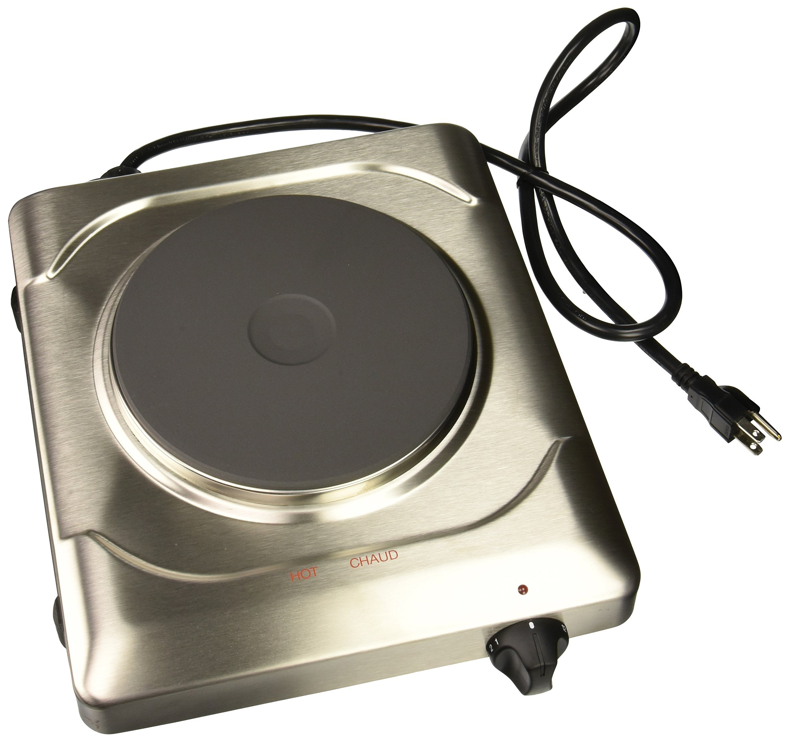 Cadco PCR-1S Professional Cast Iron Range, Stainless