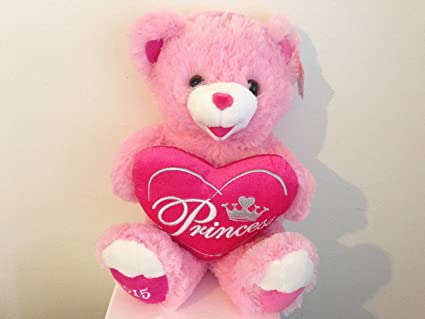 Amazon Com Sweetheart Teddy Ultra Plush Valentine S Day Teddy Bear