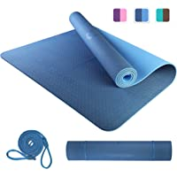 PROIRON Yoga Mat Large Exercise Mat Eco Friendly TPE Thickness 6mm Non-Slip Double-Sided Gym Mat Tear Resistant with…