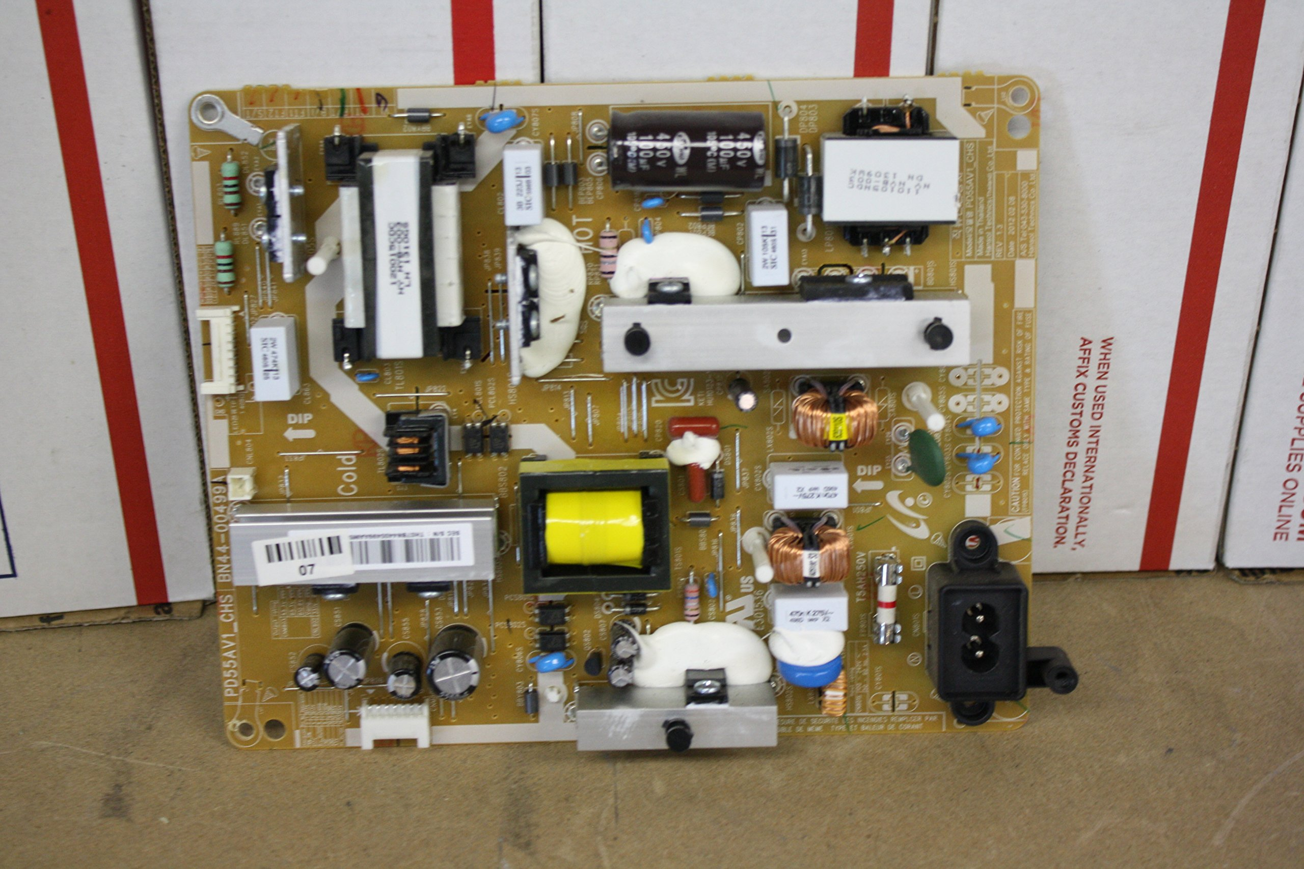 Samsung BN44-00499A Power Supply Board PD55AV1_CHS