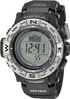 687f6d259 Amazon.com: Casio Men's Pro Trek PRW-2500T-7CR Tough Solar Digital ...