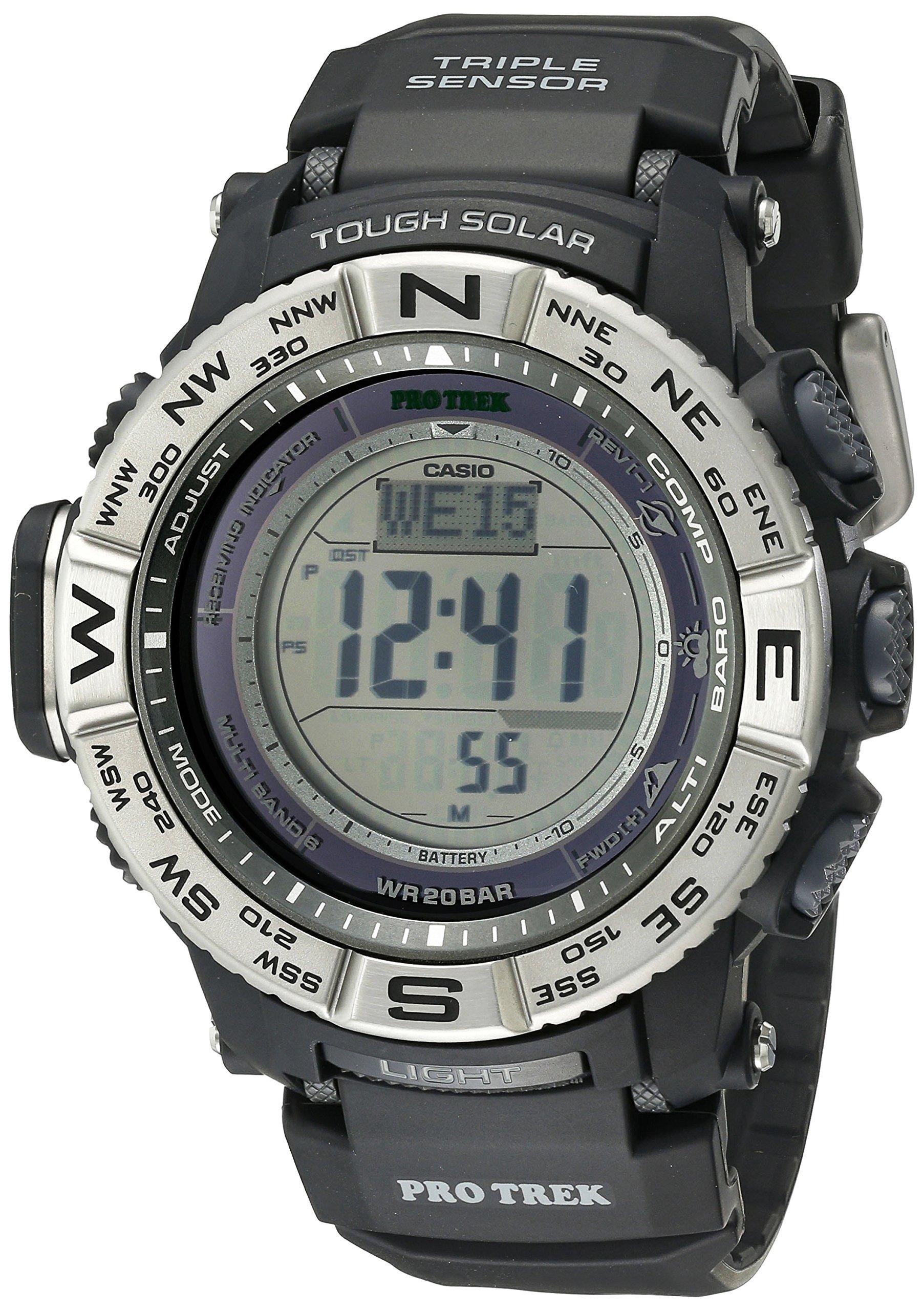 Casio Men's Pro Trek PRW-3500-1CR Solar Powered Atomic Resin Digital Watch by Casio (Image #1)