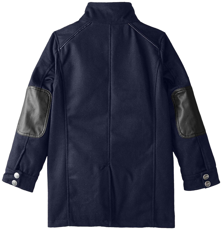 Urban Republic Big Boys Military Coat With Vestee
