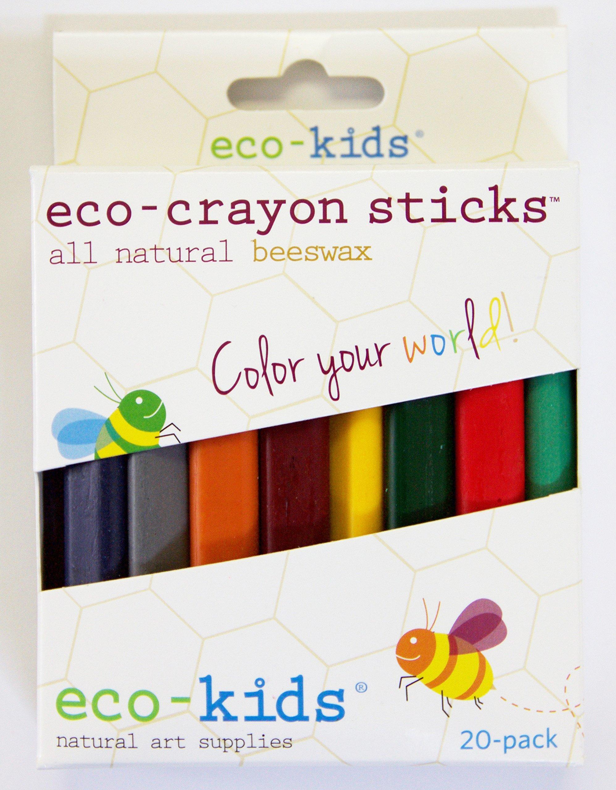 Eco-Crayon Sticks 20 Pack
