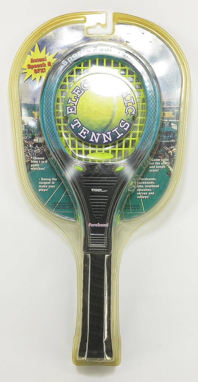 Vintage Handheld Electronic Tennis Game by Tiger Electronics Circa 1998