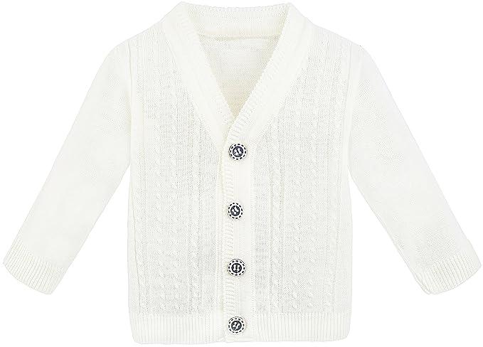 Amazon Lilax Baby Boy Cable Knit Basic Knit Cardigan Sweater