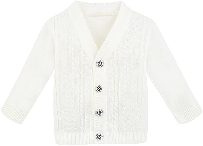 Amazon.com: Lilax Baby Boy Cable-Knit Basic Knit - Chaqueta ...