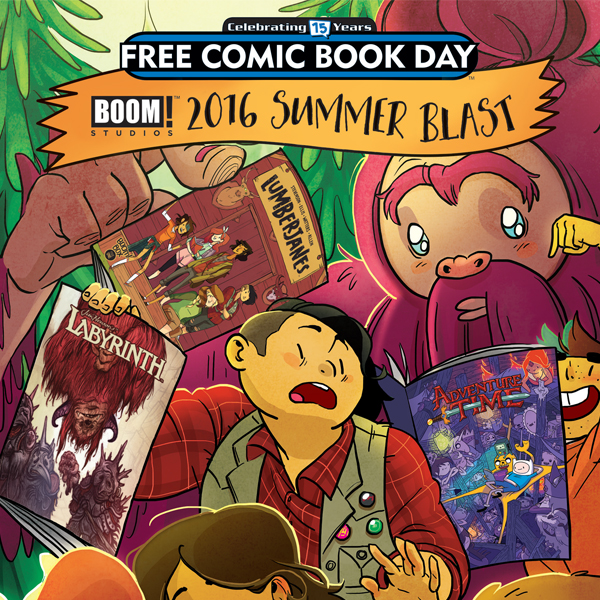 BOOM! FCBD: Summer Blast (Issues) (2 Book Series)