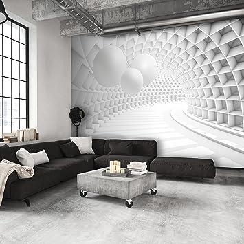 Elegant Decomonkey | Fototapete 3d Abstrakt Kugeln Weiß Grau Abstrakt 350x256 Cm XL  | Design Tapete |