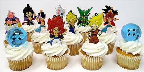 Dragon Ball Z Deluxe - Juego de decoración para tarta de ...
