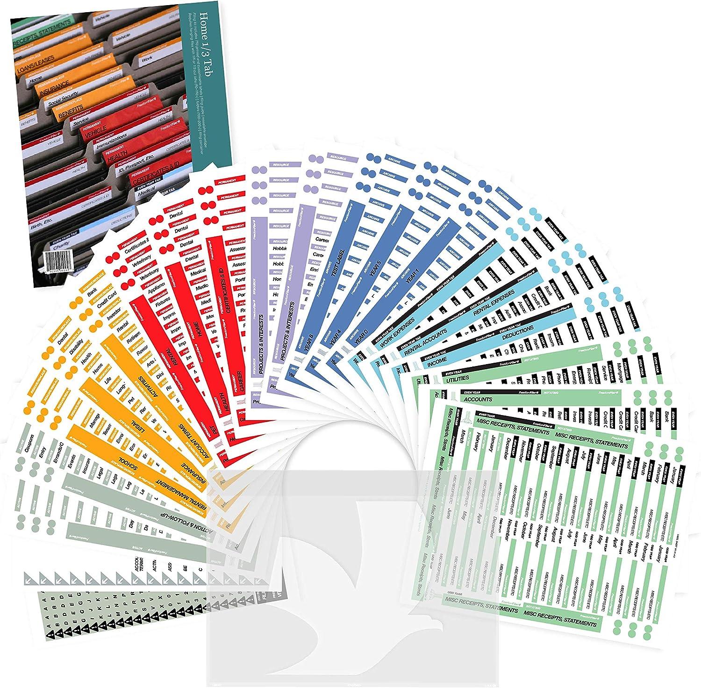 FreedomFiler Home Filing Kit 1/3 Tab