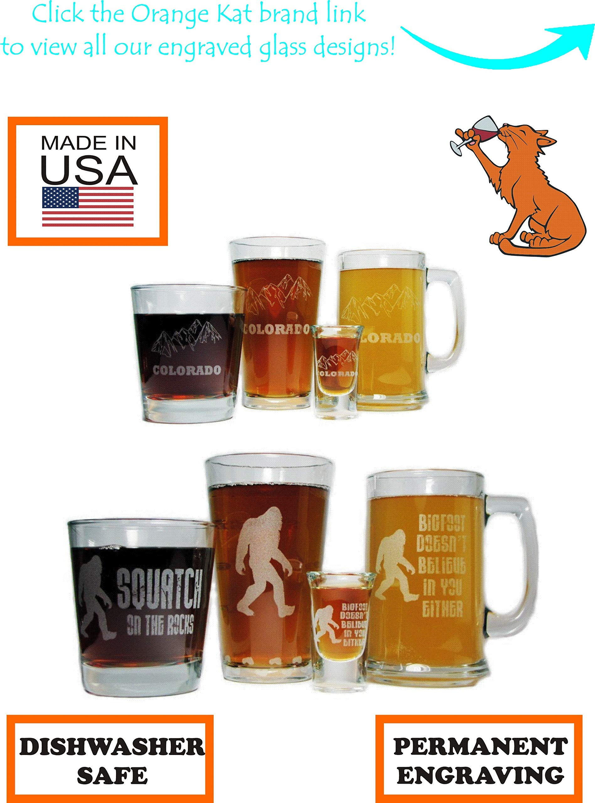 Grandpa's Sippy Cup Beer Mug and Pint Glass Gift Set - 15oz Engraved Beer Mug with 16oz Pint Glass-Permanently Etched - Fun & Unique Gift!