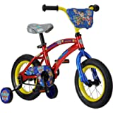 Nickelodeon Paw Patrol Kids Bike, 12-16-Inch Wheels, Toddlers to Kids ages 3 Years and Up, Training Wheel Options, Steel…