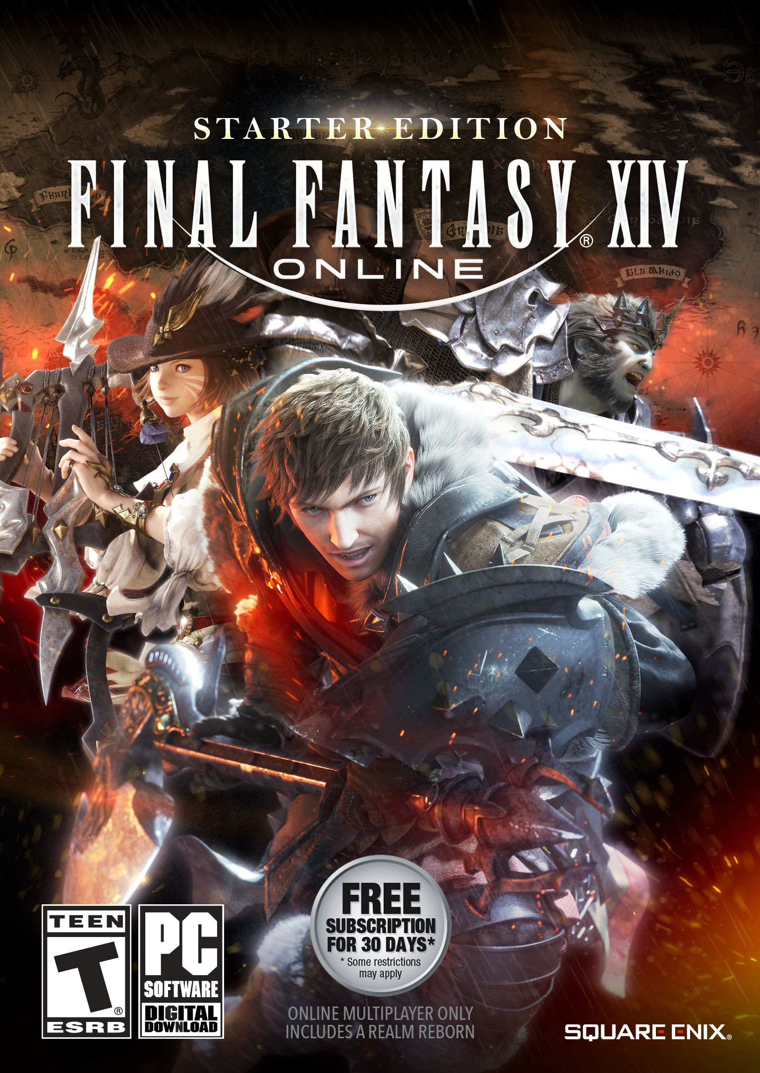 Final Fantasy XIV Online Starter Edition [Online Game - About Starter