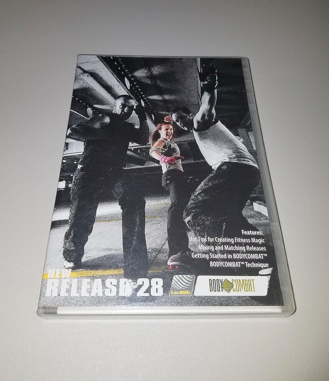 Amazon com: Les Mills Body Combat New Release 28 DVD, CD
