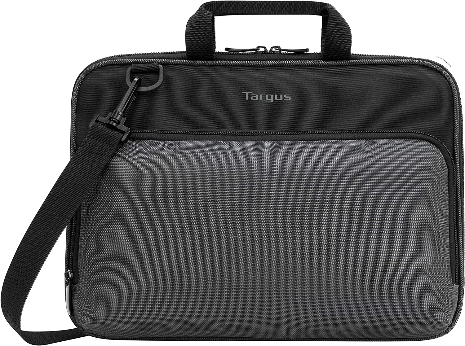 Targus Work-in Essentials Case with Slim Profile, Soft Touch Interior, Large Front Pocket Pouch, Protective Sleeve fits 13-14-Inch Laptop Chromebook, Black (TED007GL)