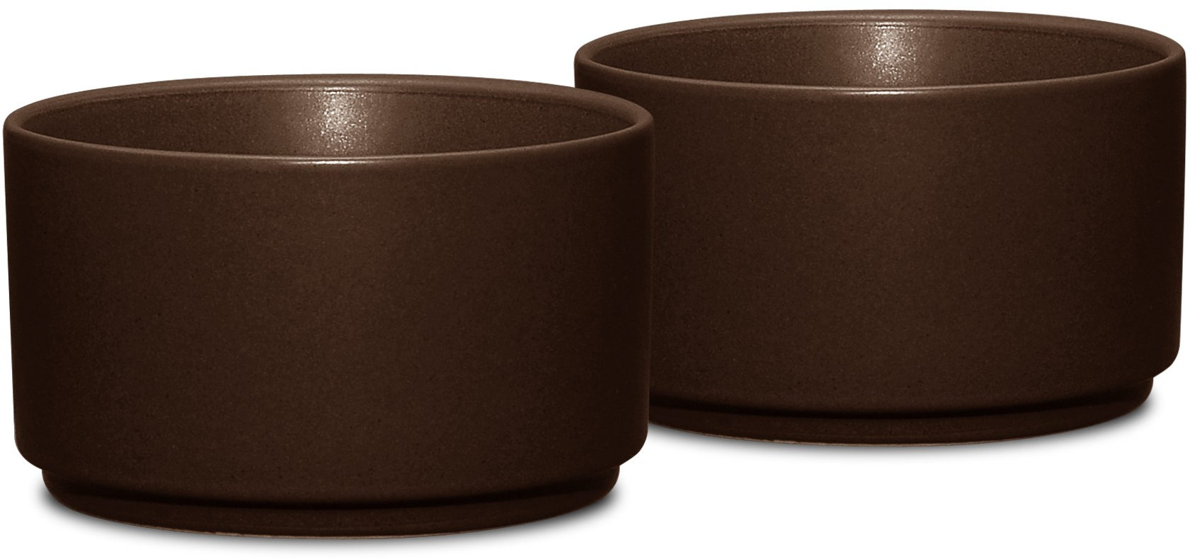 "Noritake Colorwave Chocolate Bakeware—Set of 2, Ramekin, 3 3/4"", 9 oz."