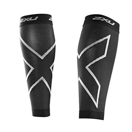 acbbc56113 Amazon.com: 2XU Compression Recovery Calf Sleeves: Sports & Outdoors