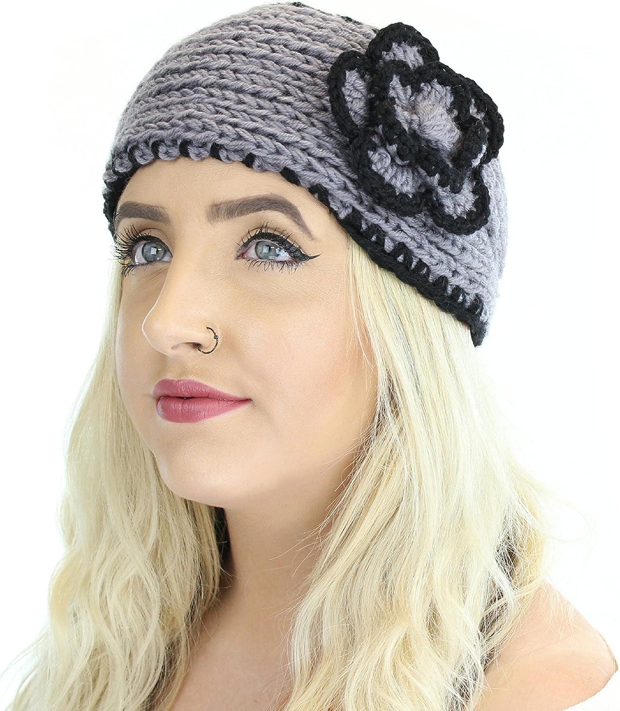 Boho Winter Knit Ear Warmer...