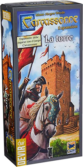 Devir - Carcassonne: La Torre, juego de mesa (BGCARTO): Amazon.es ...