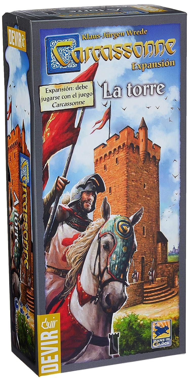 Comprar Devir - Carcassonne: La Torre, juego de mesa (BGCARTO)