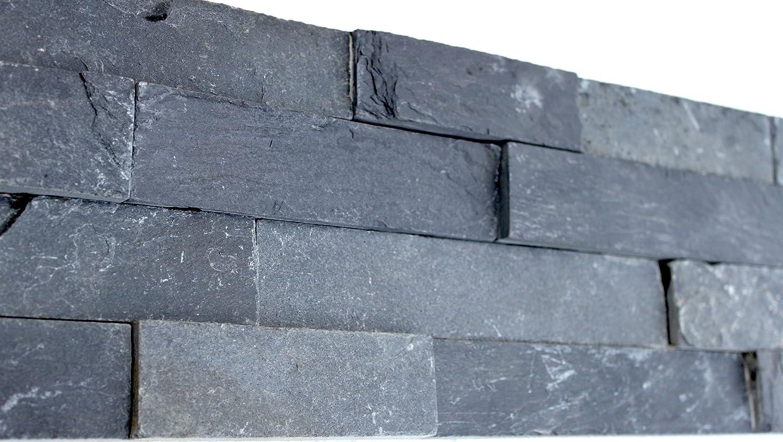wandpaneele schiefer optik von design wandpaneele stein. Black Bedroom Furniture Sets. Home Design Ideas