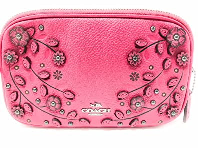 1a4b6329a COACH Willow Floral Crossbody Clutch in Pebble Leather: Handbags: Amazon.com