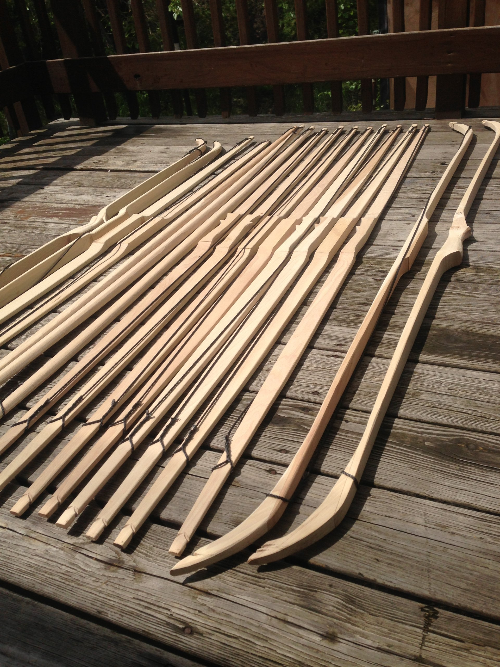50lb 71'' You-Finish Traditional Hickory Longbow! Competition or Hunting Bow! Wood Archery! by RingingRocksArchery.com (Image #5)