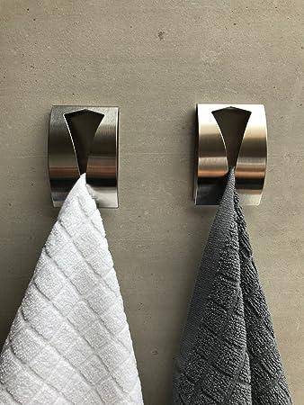 Innovativ be fancy! 2 Premium Handtuchhalter Hannah - selbstklebend  BI78