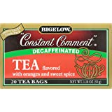 Bigelow Decaffeinated Constant Comment Tea, 20 ct