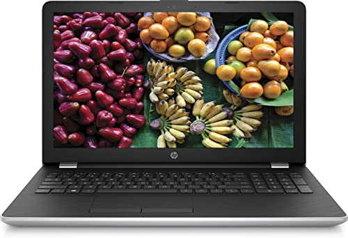 HP 15-bs501na FHD 15.6 Inch Laptop, Silver, Intel Core i3-6006U Processor, 4 GB RAM, 1 TB HDD, Intel HD Graphics 520, Windows 10 Home