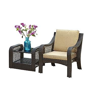 Home styles Lanai Breeze 2 piezas Accent silla y final Cuadro