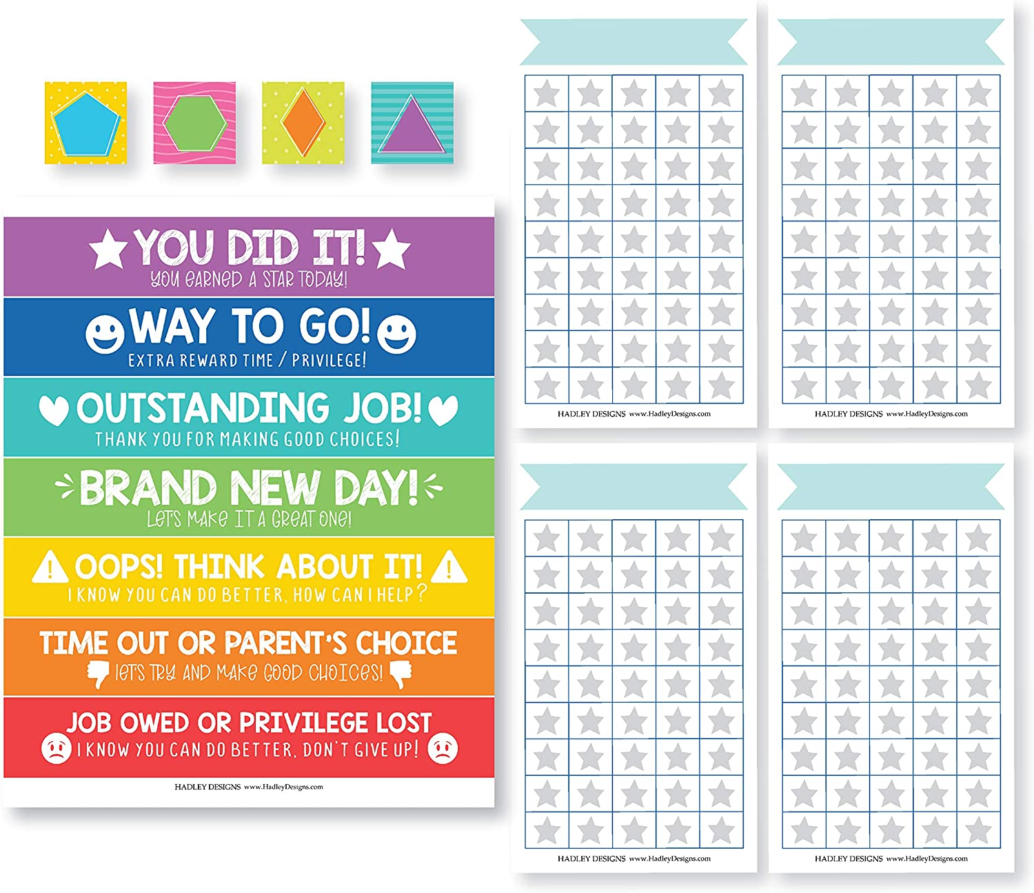 Good Behavior Chart For Kids at Home Magnetic, Kids Reward Chart For Kids at Home Magnetic Responsibility Chart For Kids, Star Chart For Kids Behavior, Toddler Behavior Chart Classroom Incentive Chart